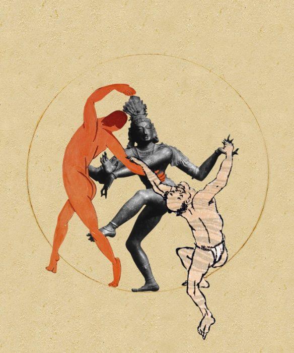 Shiva, Katsushika, Henri alors on danse