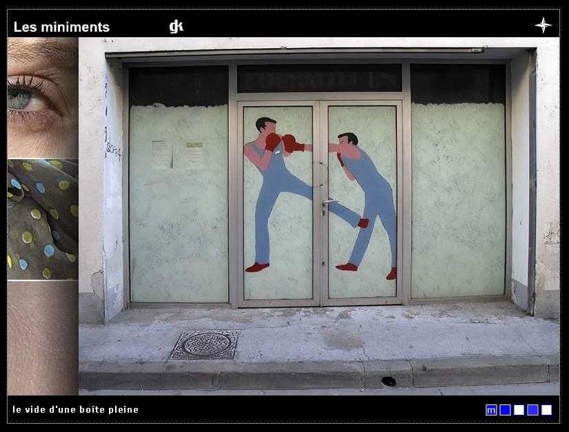 Les Miniments, quartier Gambetta, ECM Carré d'Art, Nimes – 2005