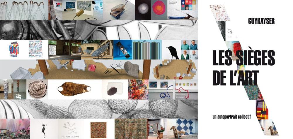 Les sièges de l'art – Galerie Agart – 2015