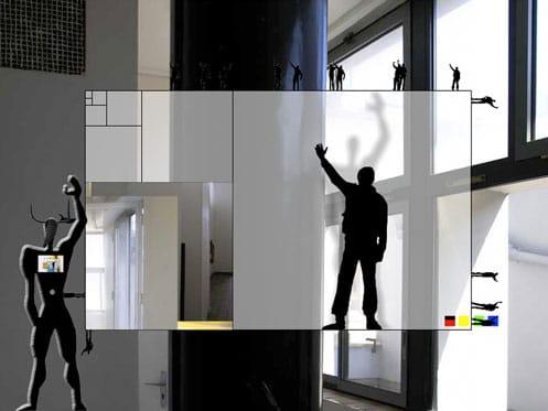 Du Modulor de Le Corbusier au Modulotaure de Guykayser, Cité du Refuge, Paris