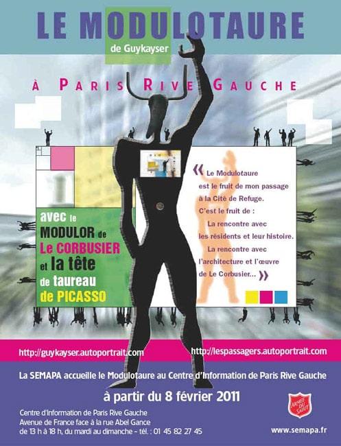 Le Modulotaure à Paris Rive Gauche